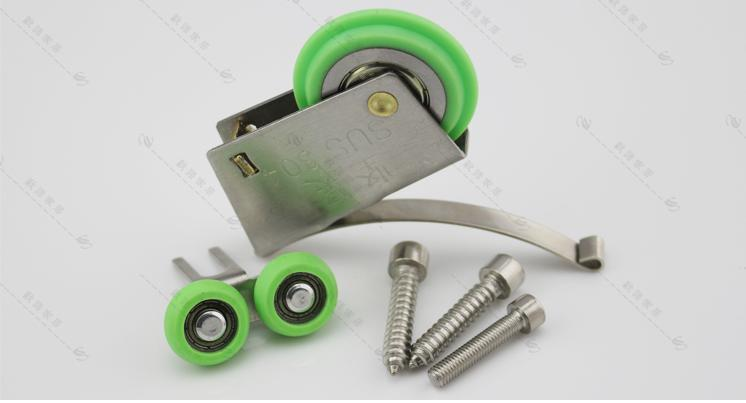 Eccentric. 304 stainless steel door pulley moves to the door pulley<br><br>Aliexpress