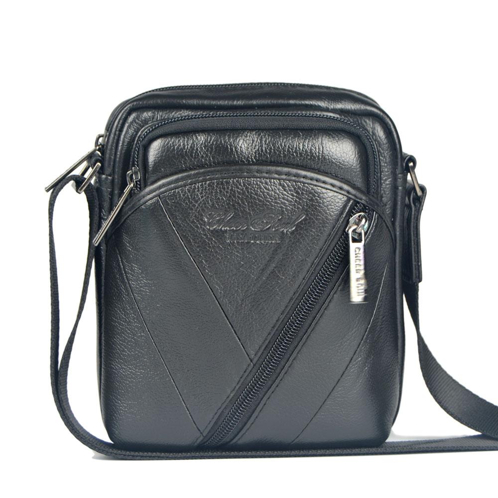 Гаджет  high quality 2015 New hot sale genuine cowhide Leather Men Bag Fashion Men Messenger Bag small Business crossbody shoulder Bags None Камера и Сумки