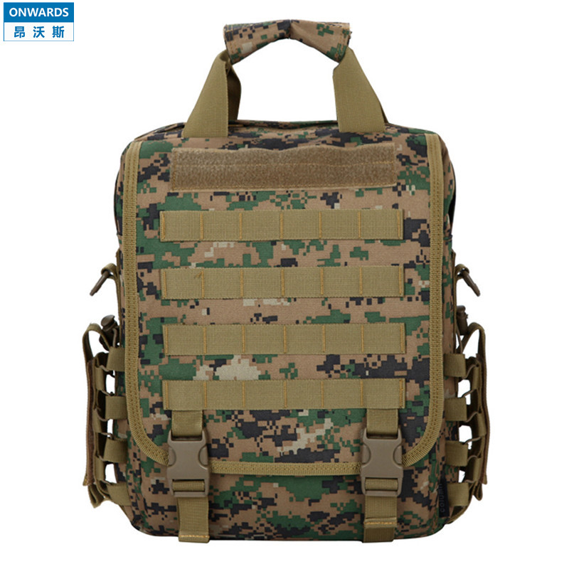 "ONWARDS Tactical Marpat Camouflage 14"" Laptop Backpack Outdoor Travel Hiking Waterproof Men Molle Backpack Army Computer Bolsas(China (Mainland))"