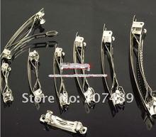 length 6cm DIY HAIR CLIP automatic spring clips hairpin Hair clips hair decorations headwear accessories whcn+