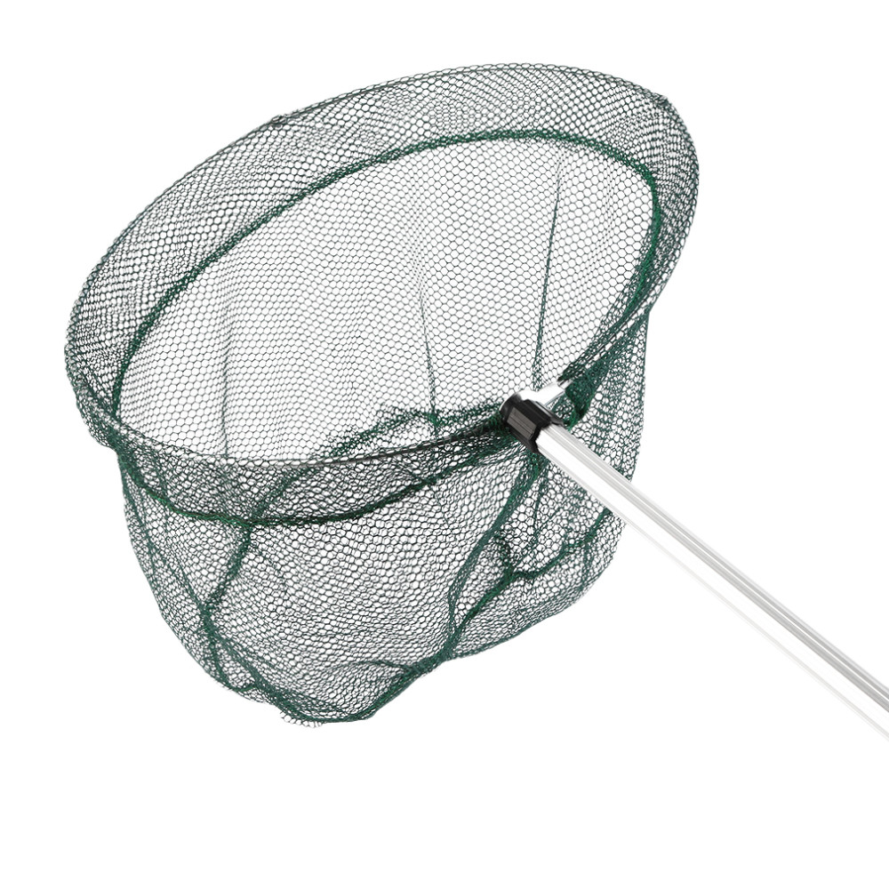 Sale round frame folding fishing landing net aluminum 3 for Fishing net for sale