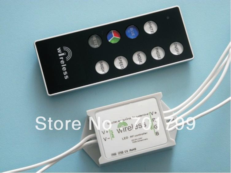 waterproof led RF RGB controller,DC12-24V input,max 5A*3 channel output(China (Mainland))