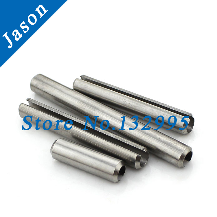 M4*16  Stainless steel A2 Spring pin, Spring-type straight pins,slotted,heavy duty,Resilient pin M4*L<br><br>Aliexpress