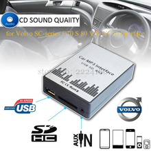 Buy Lonleap New USB SD AUX Car MP3 Adapter CD Changer for Volvo SC-series C70 S80 Interface Easy Installation Charger Car Parts for $34.28 in AliExpress store