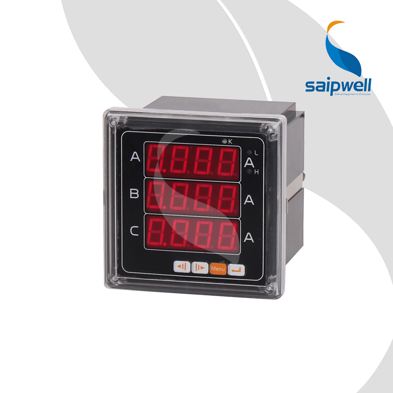 963A Three Phase Current Ampere Meter,AC220V Industrial Electronic Instrument 96*48*95 SP-963A<br><br>Aliexpress