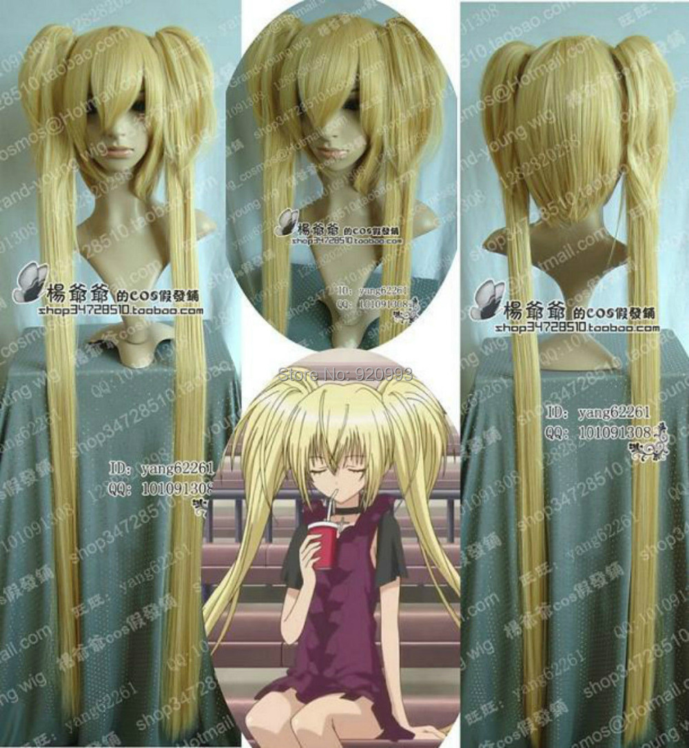 WQ &amp;Wholesale&amp;&gt;&gt;Promotions New Cosplay Wig Blonde Long On Ponytail 130cm<br><br>Aliexpress