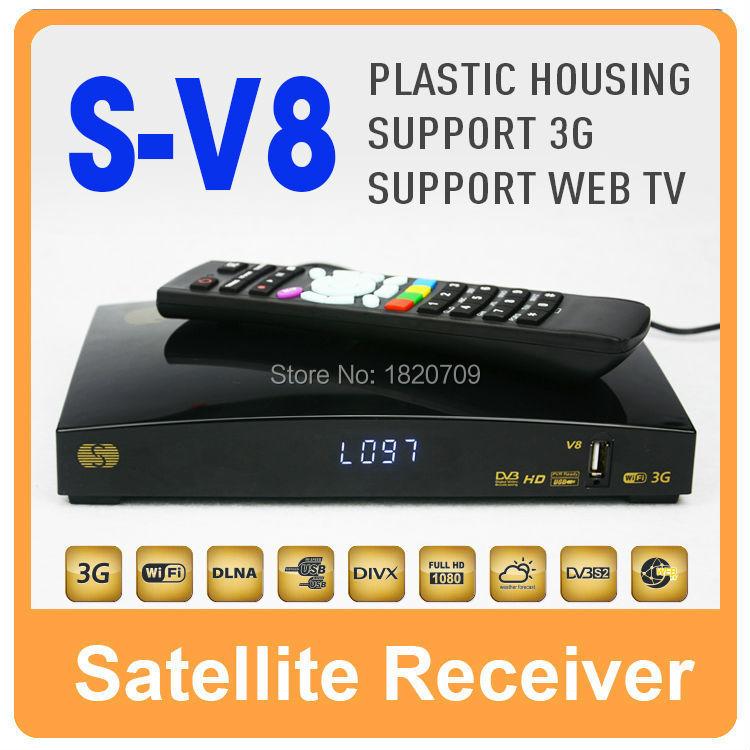 1 PC SKybox V8 Support 2 USB WEB TV Youtube/3G modem Card Sharing CCCAM/MGCAM/NEWCAM Skybox F3/F3S/F5S/F4S/V6/V8/V7/X6(China (Mainland))