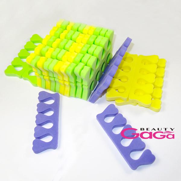 Professional Manicure Tools Nail & Feet Care China 30pcs/lot EVA Material Nail Art Tools Finger Bracket Toe Seperators(China (Mainland))