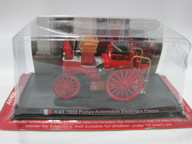 AMER COM 1/43 1900 Pompe automobile eletrique French fire truck<br><br>Aliexpress