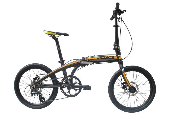 Laplace V8 Folding Bike Mountain bike folding bicycle 8 speed bicicletas 20 inch standard double disc bicycle adult bikes(China (Mainland))