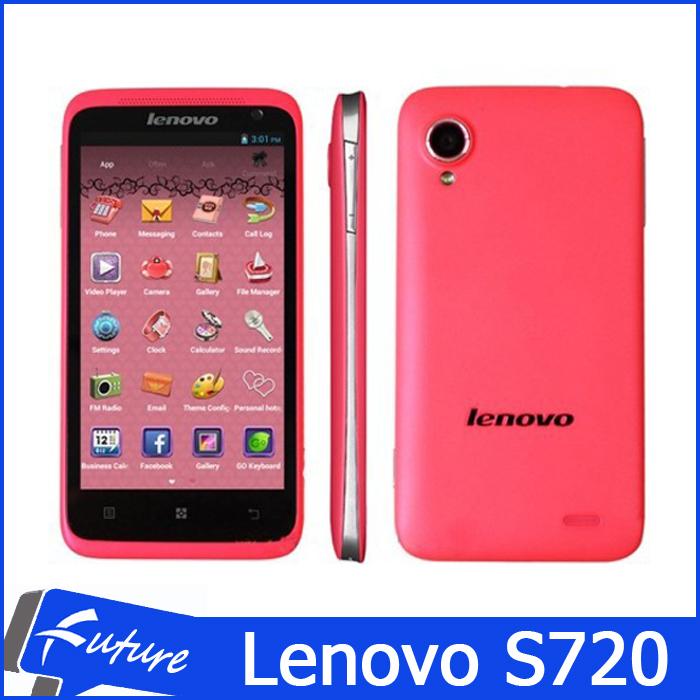 "Original Lenovo S720 S720i MTK6577 Dual Core 1GB RAM 4GB ROM Dual SIM Smartphone Mobile Phones 4.5"" IPS Andorid 4.0 Cell Phone(China (Mainland))"
