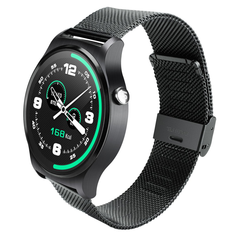 GW01 Smart Watch IPS Round Screen Life Water Resistance Watch Phone Support Heart Rate Monitor Pedometer Dialing Anti-lost Alarm(China (Mainland))
