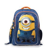 Children School Bags set Mochila Minion backpack Bags For boys girls teenagers cartoon school backpack High