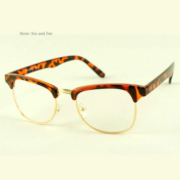 Korean Eyeglasses Frames Philippines : Promotion! New Fashion Korean Framed Glasses Plain Glass ...
