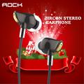 Original Rock Zircon Stereo Earphone In Ear Amazing Noise Isolation In Balanced Immersive Bass Perfect Fone