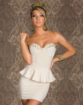 Hot sale women Fashion summer sexy ladies white black sleeveless elegant mini Peplum Dresses party vestidos free shipping 2660