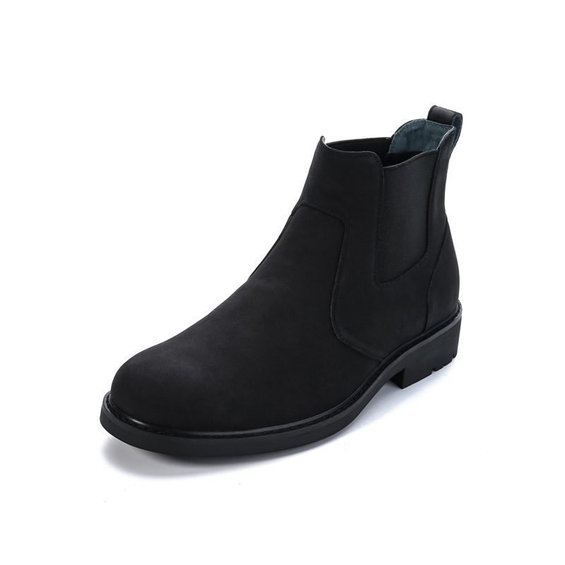 Short Black Ankle Boots - Cr Boot