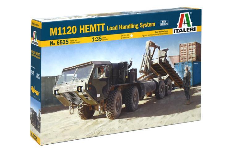 ITALERI 6525 1/35 Scale M1120 HEMTT load handling system Plastic Model Building Kit(China (Mainland))