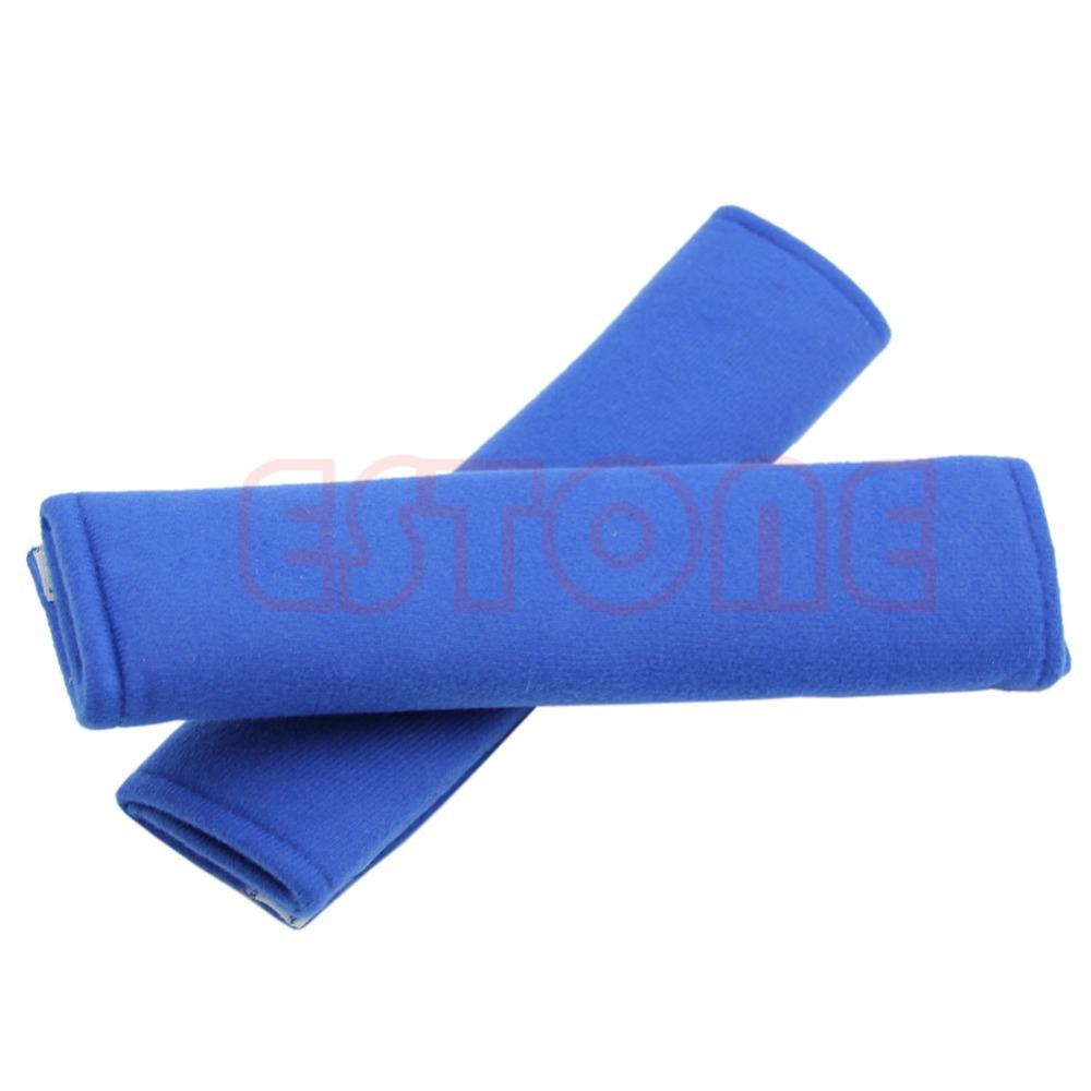 Бесплатная доставка 1 пара удобные автомобилей ремней безопасность оплечье обложка подушка жгут pad