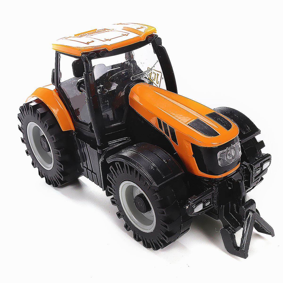 Kids Toddlers 1:32 Scale Model Car Truck Toy Diecast Farmer Vehicle Tractor LED Musical Toys For Children 163*88*78 mm(China (Mainland))