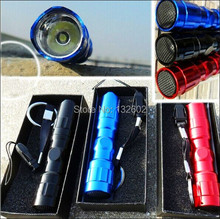 5Pcs 3W LED AA Handy Camping Flashlight Torch Lamp Keychain ER Safe Delivery Free Shipping(China (Mainland))