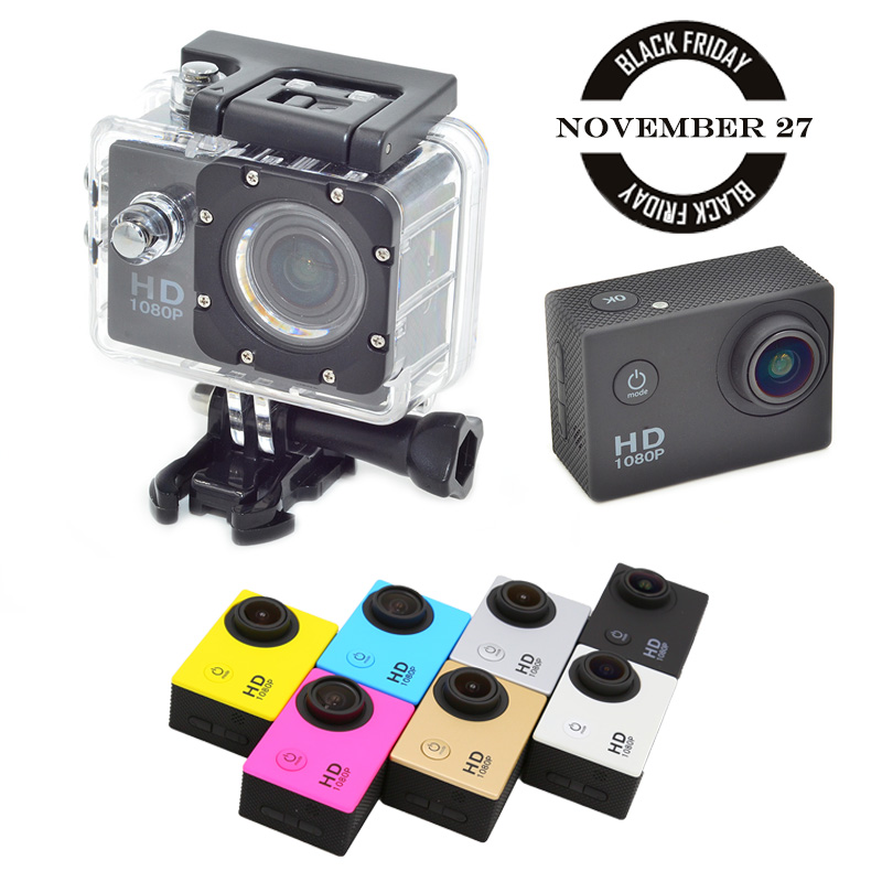 Гаджет  SJ4000 New Full HD 1080P Action Camera 10MP 1.5 Inch LCD Wide Angle Waterproof DV Camcorder  Extreme Sports Camera None Бытовая электроника