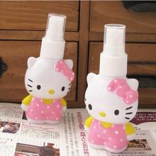Hello Kitty Storage Spray Bottles PerfumeMakeupSkin Care Water Packing Bottle(China (Mainland))