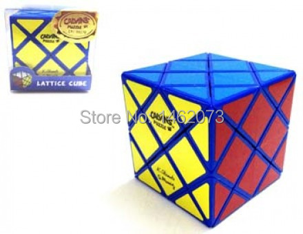 [Speed Demon Cube Store] Calvin's Puzzle Okamoto & Greg Lattice Cube (Japanese Color Scheme) Small in Small Clear Box(China (Mainland))