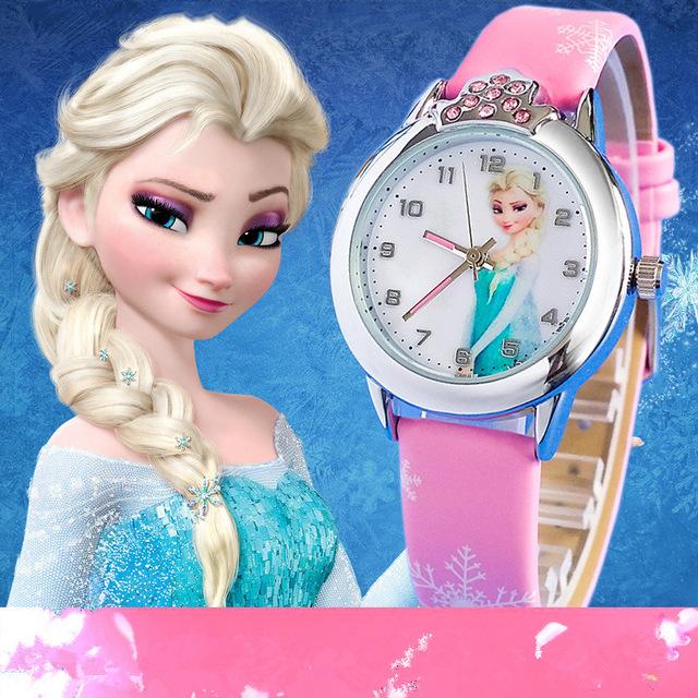 New fashion casual eye panda cartoon watch for children leather strap quartz watches for boys girls wristwatch christmas gift<br><br>Aliexpress