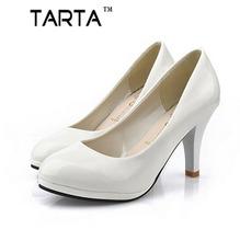 Shoes Women 2016 New Women shoes 3 Color Black White Red color PU thin heels Pumps profession pumps  ggx-11