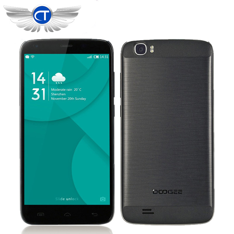"""Original DOOGEE T6 Pro 5.5"""" HD MTK6753 Octa Core 6250mAh 4G LTE Cell Phones Android 6.0 3GB RAM 32GB ROM 13.0MP Quick Charge OTG(China (Mainland))"""