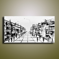 handmade oil painting on canvas modern 100% Best Art Abstract oil painting original  directly  from artist XD3-003A