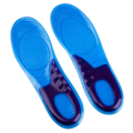 New Orthotic Arch Support Massaging Gel Insoles sizes 8 12