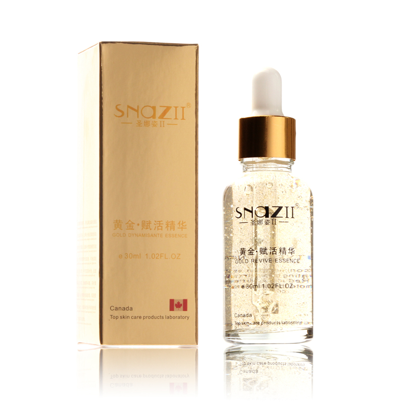 Snazii Gold Revive Essence Firming Cream Gold Ginseng Cream Whitening Anti Spot Care for Skin Care Moisturizing Cream to Face(China (Mainland))