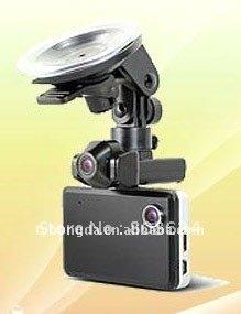Cheapest  $89  HD720P dual lens car camera&2ch car dvr