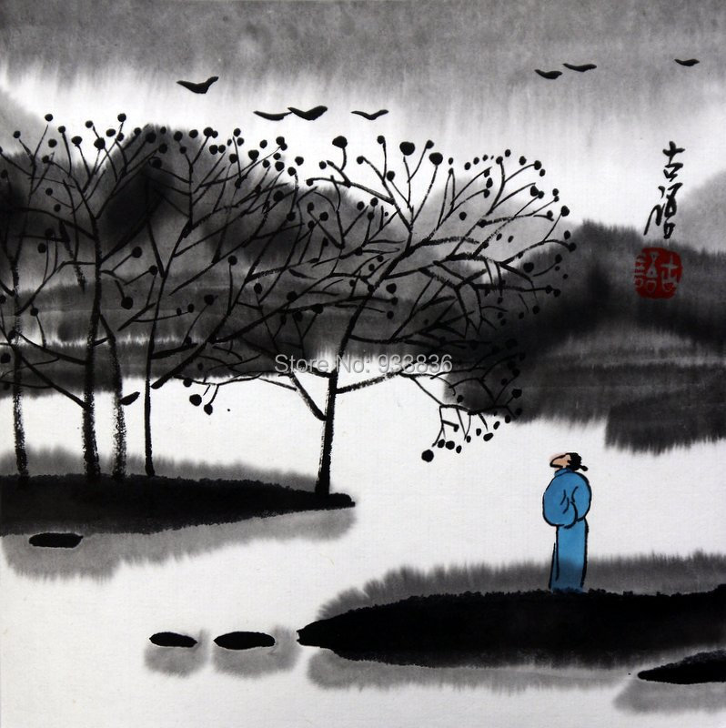 Chinese Zen Drawings Chinese Zen Painting in Nature