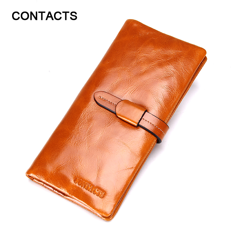 New Arrival 2016 Genuine Leather Women Wallet Fashion Brand Real Cowhide Wallet Long Design Clutch Female Purse With Card Holder(China (Mainland))