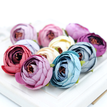 Buy 10PCS 3CM Silk Artificial Tea Rose Bud Flowers Head Wedding Decoration DIY Wreath Gift Box Scrapbooking Craft Fake Flowers for $2.39 in AliExpress store