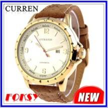 חדש מותג יוקרה Curren מזדמנים נשים שמלת שעונים גברים אופנה ספורט קוורץ שעונים שעון צבאי שעוני נשים שעוני יד 1231