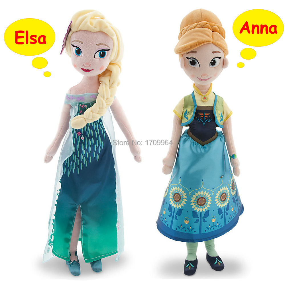 Кукла Elsa anna Princess Boneca Peluche Princess dolls smartable girl friend princess building block elsa anna arendelle castle celebration 79277 figure bricks toys compatible legoeds