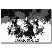 Dark Souls 1 2 3 Art Silk Fabric Poster Print 13x20 inch Game Picture for Wall Decor 001(China (Mainland))