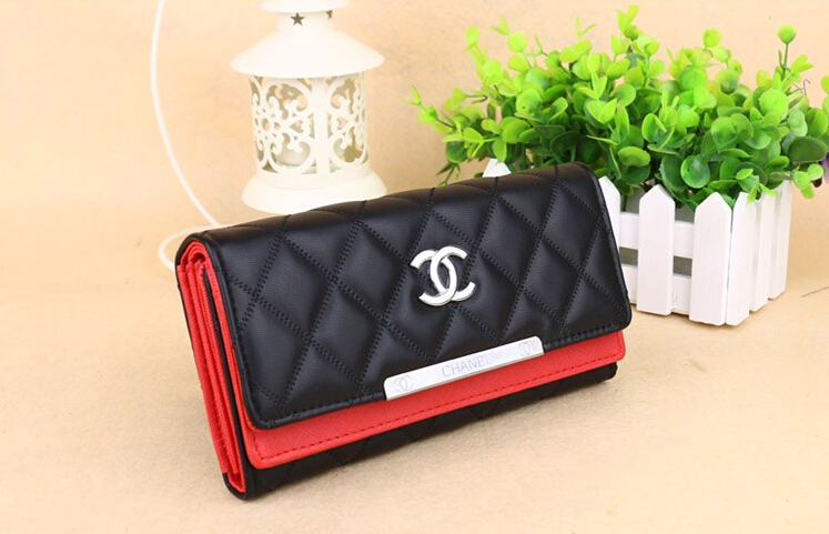 Women Wallets Fashion Ling Plaid Sheepskin Brand Clutch Purse Gift 7 Colors Factory Store Wholesale Candy Color Long Purse(China (Mainland))