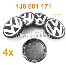 4 pcs 56mm Good Wheel Center Hub Caps Make In Germany  fit for   BORA MK4 PASSAT GOLF MK4(China (Mainland))