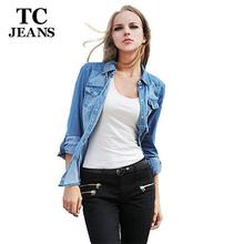 TC Plus Size Denim Shirt Women Clothing Nostalgic Gradient Jeans Shirt Vintage Womens Camisa Jeans Blusas Feminina Blouse(China (Mainland))