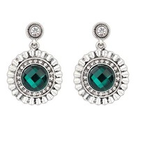 Top Quality Statement Vintage Brincos Fashion Jewelry Gem Exquisite Earrings!#102163(China (Mainland))