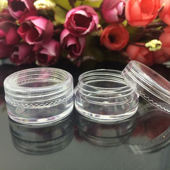5g Mini Cosmetic Empty Jar Pot Cream Container Refillable Bottles Eyeshadow Makeup Plastic Hot  -  Better Buy for Beauty store