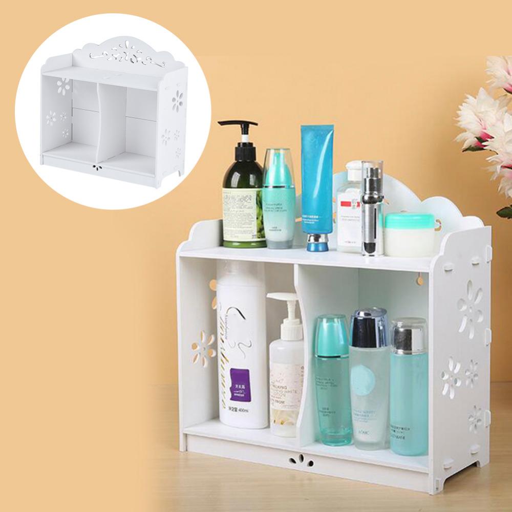 White WPC board Storage Cabinet Shelf Wall Hanging Bathroom BedroomCabinet Storage Rack Shelving waterproof mildew proof(China (Mainland))