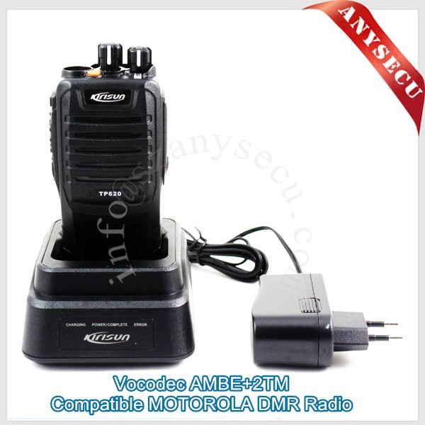 IP67 water-proof Digital kirisun TP620 DMR Portable Radio Reliable Manufacturer Walkie Talkie AMBE+2TM Interphone(China (Mainland))