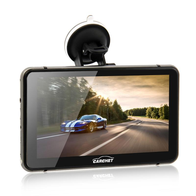 7 Inch Android 4.4 Car GPS 1080P HD DVR with Dash Cam Touchscreen FM Transmitter 2.4 GHz Wifi 512MB RAM 800*480 Pixels Car GPS<br>