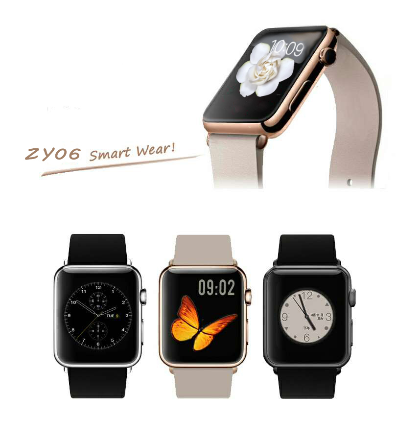 2015 New ZY06 Smart Watch Phone Four Band GMS Smart Watch 1.54 Touch Screen 1.3MP Camera 32GB TF Card Support<br><br>Aliexpress